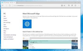 Webseiten für den Start von Edge vordefinieren