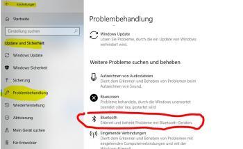 wenn Windows ein Bluetooth-Gerät nicht erkennt