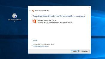 Schritt 1: Die Windows Installer-Pakete entfernen