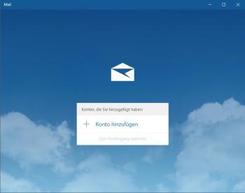 Erstellen einer Signatur in der Mail-Anwendung