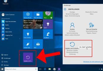 Das neue Startmenü für Windows 10