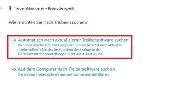Windows 10 Problem driver power state failure: Treiber aktualisieren kann helfen (Bild: Screenshot)