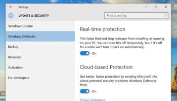 So aktivieren Sie den Windows Defender