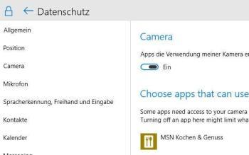 Was Sie tun können, wenn unter Windows 10 die Webcam nicht funktioniert