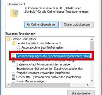 Entfernen Sie die OneDrive Werbung in Windows 10 aus dem Explorer