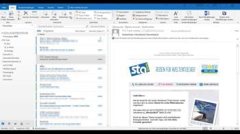 Microsoft Outlook: Unter den Mailprogrammen das Flaggschiff