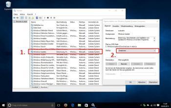 Deaktivieren Sie Windows 10 Update manuell