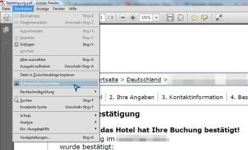 Einzelne PDF-Seiten als Screenshots konvertieren