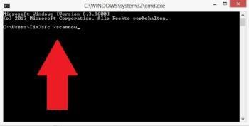 Windows: Datei-System reparieren