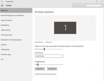 Windows 10: Text vergrößern