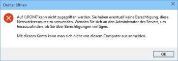Windows 10: Kein Zugriff auf Netzwerk, Dateien und Ordner
