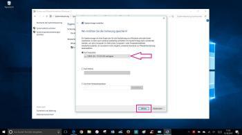 Backups mithilfe der Windows 7-Sicherung erstellen
