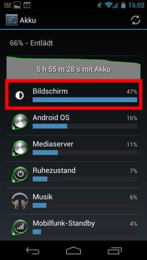 Android Display Helligkeit Automatisch