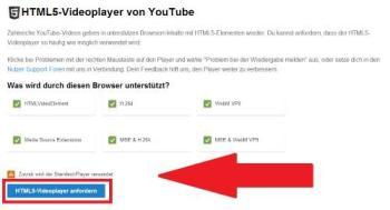 YouTube ALL HTML5 installieren