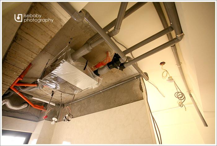 [窩] 裝潢W1-2:全熱式交換機配管 - 三小二鳥的幸福生活
