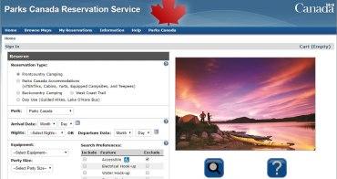 加拿大   註冊攻略。加拿大國家公園預約網站GCKey註冊攻略