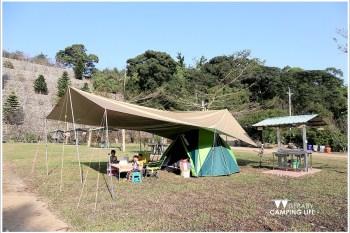 露營   台中新社。櫻花鳥森林.滑水道好好玩的櫻花營地