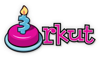 Orkut 3rd anniversary doodle