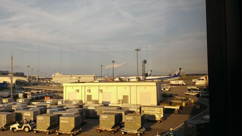 Narita Airport Tokyo ANA's area