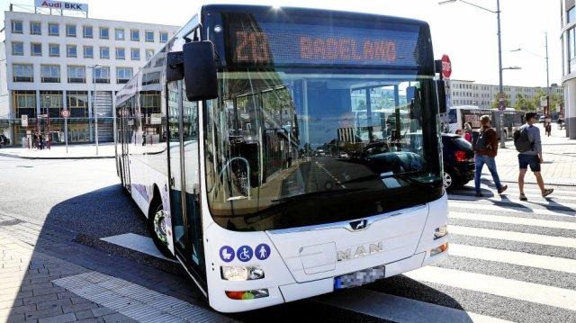 Bus der WVG, 213 Badeland