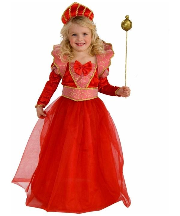Ruby Queen Kids Disney Princess Halloween Costume - Disney ...