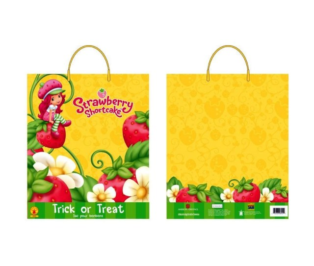 Strawberry Shortcake Halloween Candy Bag