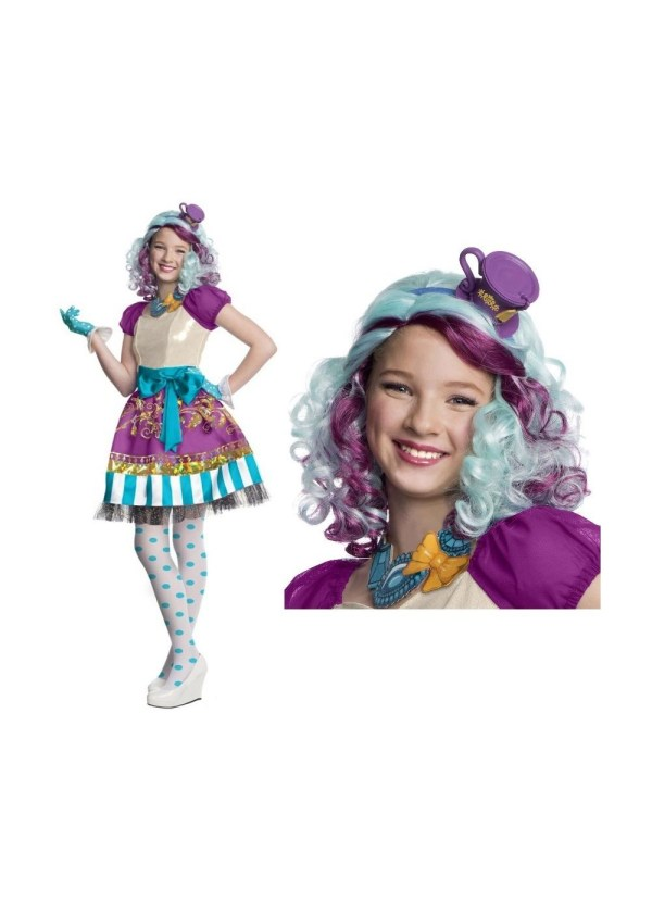 Ever After High Madeline Girl Costume Kit TV Show Costumes