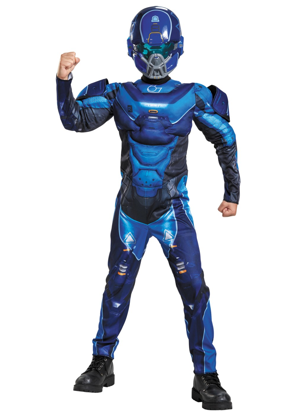 Halo Spartan Muscle Boys Costume Video Game Costumes