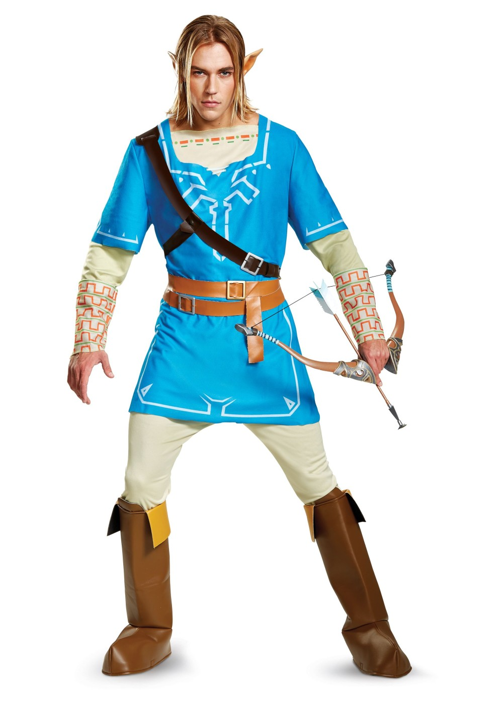 Link Breath Of The Wild Men Costume Video Game Costumes