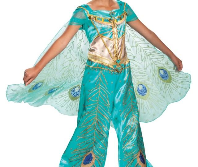 Jasmine Teal Girls Costume Egyptian Costumes