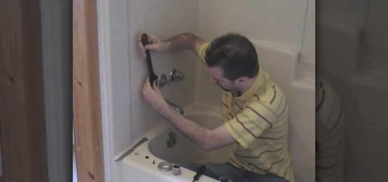 washer in your shower faucet