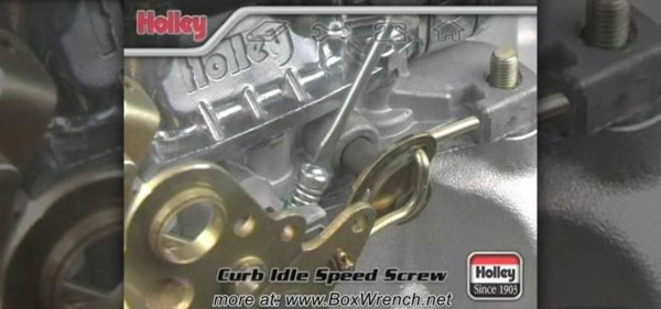 How to Adjust the curb idle speed on a Holley carb « Auto ...