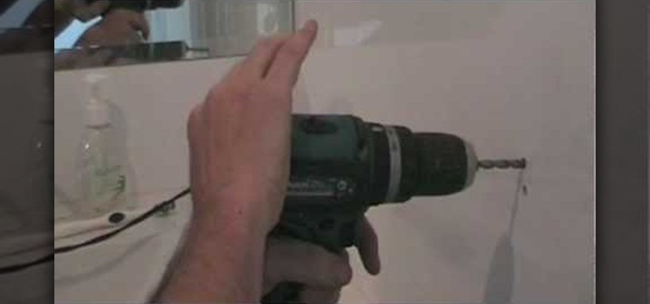 how to drill a hole in a ceramic tile