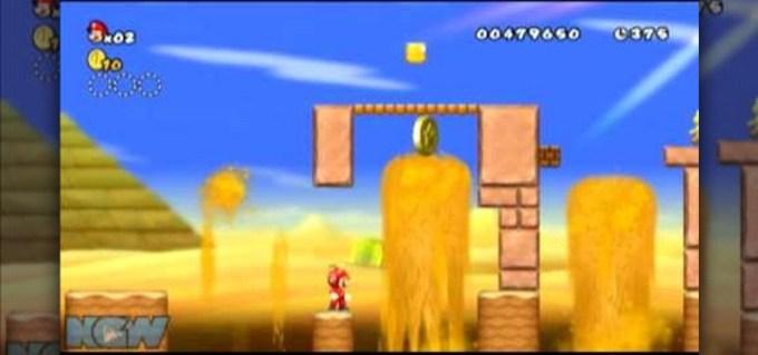 New Super Mario Bros Wii World 8 1 Star Coins — TTCT