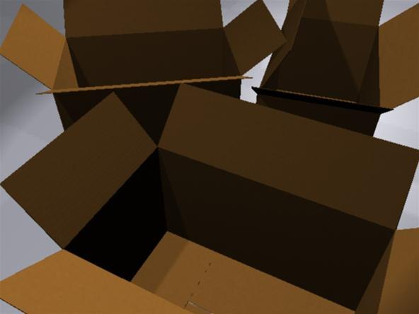 How to Create a Cardboard Shader in Maya 2011