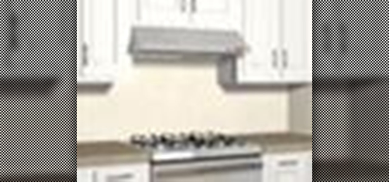 how to install a range hood wall vent
