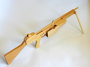 ... Ultimate Armory of Rubber Band Guns, Complete with 504-Round Gatling