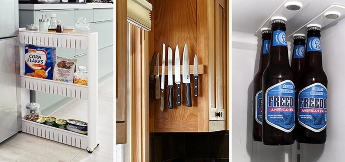 10 smart storage hacks for your small kitchen.1280x600 Small Apartment Kitchen Storage