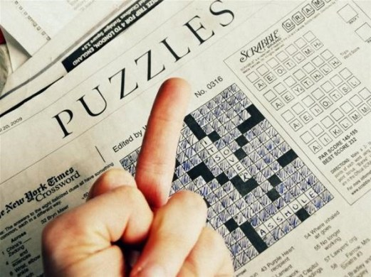 How to Dominate the New York Times Crossword Puzzle      Puzzles     Contrary to the message in the image above  it s NOT over  It s just  beginning  And when it comes to solving the New York Times crossword  puzzle