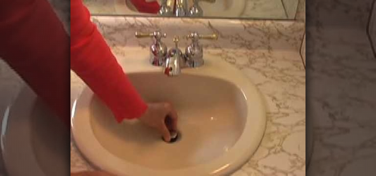 How To Unclog A Sink Drain Plumbing Amp Electric WonderHowTo