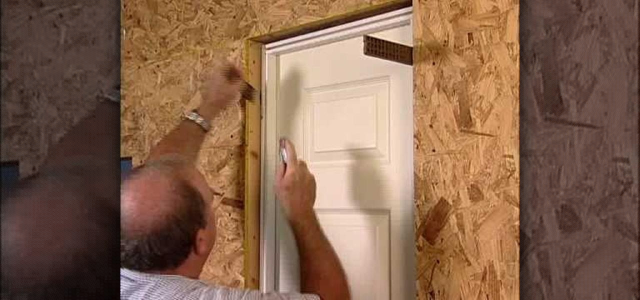 How To Install A Split Jamb Door Construction Amp Repair