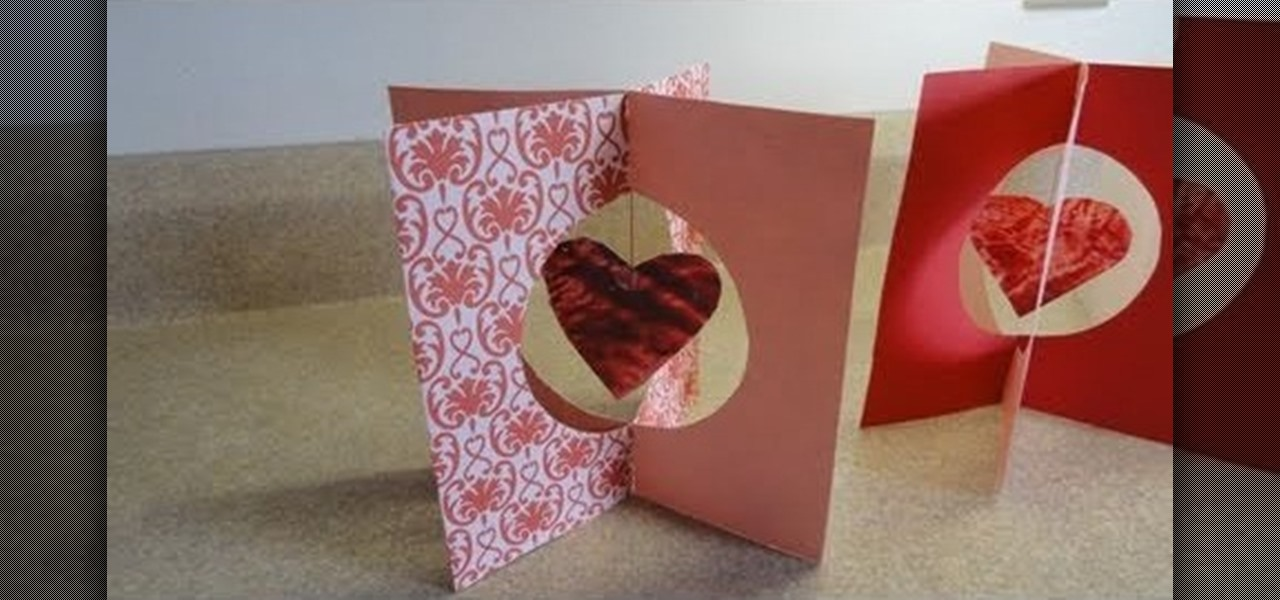 How To Craft A Pretty 3D Stand Up Card With Hanging