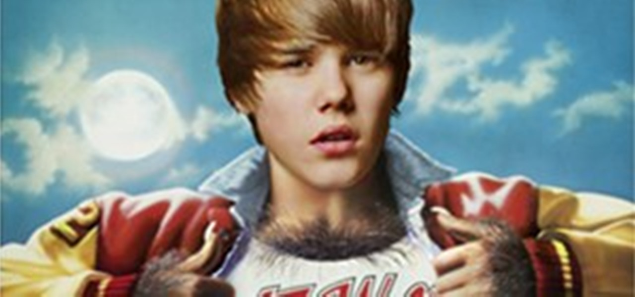 Justin Bieber As The Lead In Famous Movies Movie Poster