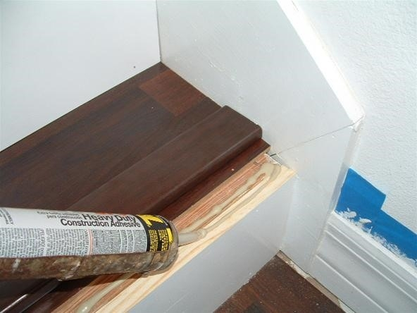 Do You Want To Install Laminate Flooring On Your Stairs « Diy | Installing Hardwood Stairs Over Existing Stairs | Prefinished Stair | Stair Tread Caps | Carpeted Stairs | Wood Flooring | Treads