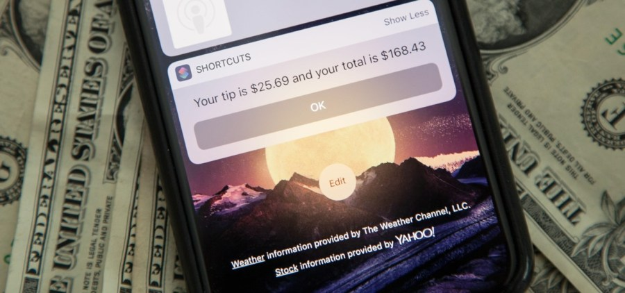 Wonder How To      Fresh Hacks For a Changing World How To  Calculate Tips Faster on Your iPhone Using the Shortcuts App