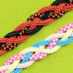 Braided Square Knot Bracelet Tutorial Jewelry Wonderhowto