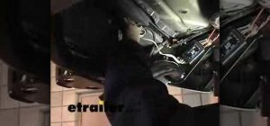 How to Install a trailer wiring harness in a Nissan Xterra