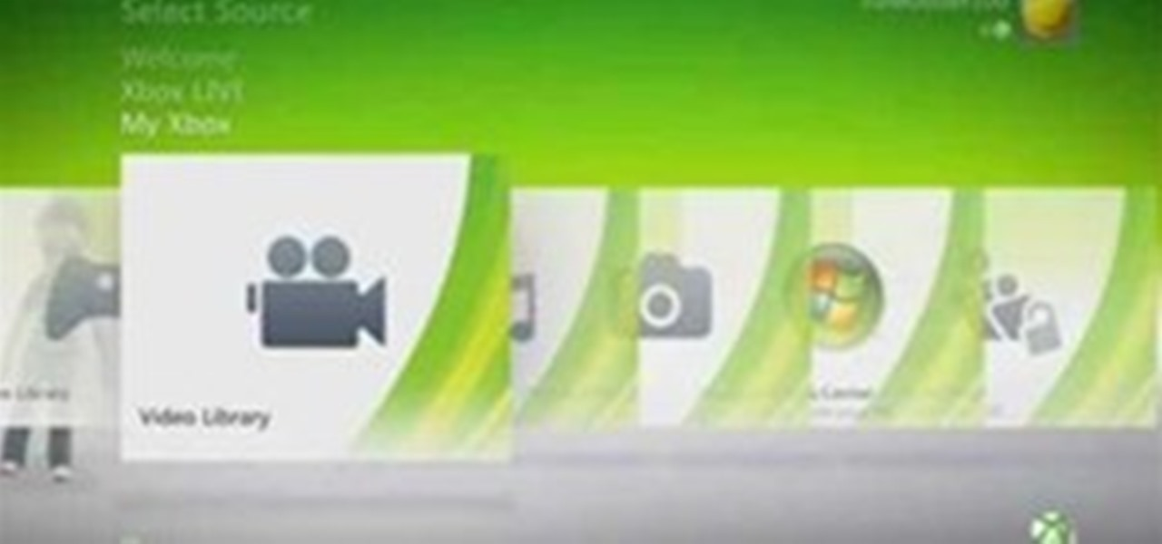 Kinect Xbox 360 Dashboard Preview Load Save WonderHowTo