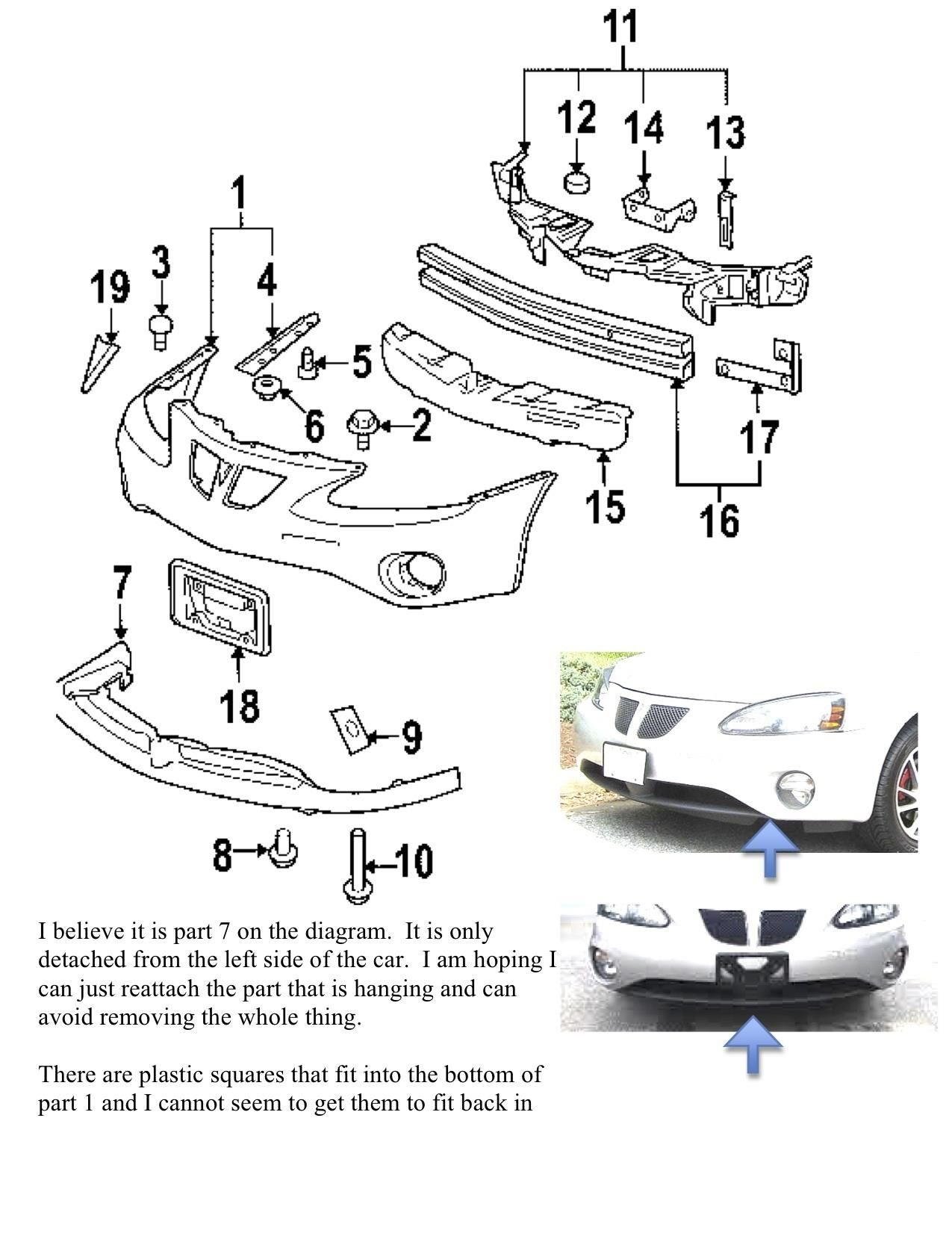 Pontiac Grand Prix Serpentine Belt Diagram