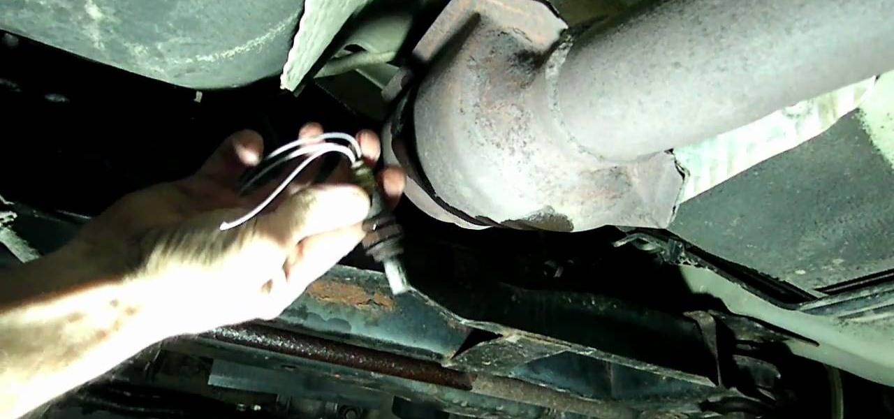 How To Fix Trouble Code P0141 The Rear Oxygen Sensor On A Dodge Neon Maintenance Wonderhowto